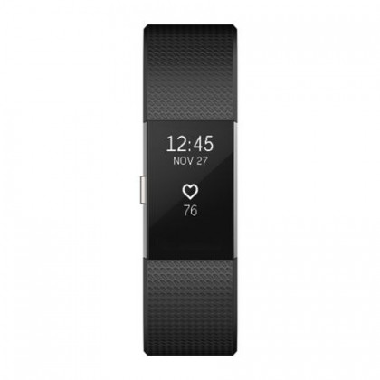 Bratara fitness Fitbit Charge 2, Large, Black