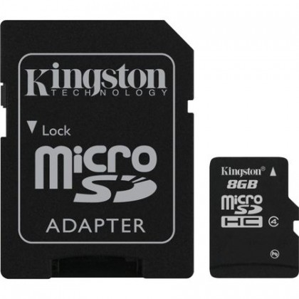 Card memorie Kingston 8GB, Class 4