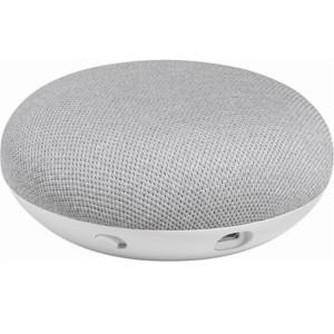 Boxa inteligenta Google Home Mini - Asistent personal inteligent cu control voce, Alb