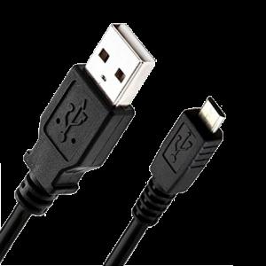 Cablu de date microusb Mobiama Negru
