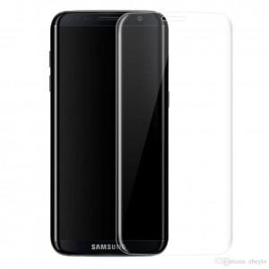 GOLD Full Cover Tempered Glass Samsung S8 Black