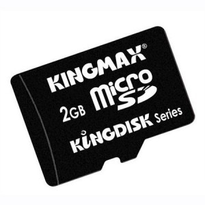 Card de memorie Kingmax MicroSD 2GB + Adaptor