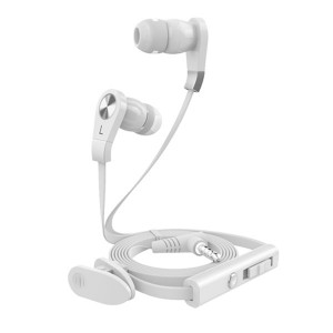 Mobi Casti stereo cu fir Mobix 3.5mm albe JV02.03