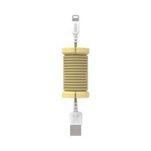 Cablu de date lightning, MFI, pentru iPhone, Philo SPOOL CABLE, 1m, Gold