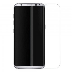 GOLD Full Cover Tempered Glass Samsung S8 Transparent